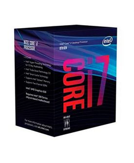 Procesador Intel 1151 i7-8700 3.2 GHz. 12Mb.